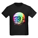 Astronaut cat Kids T-shirts (Dark)
