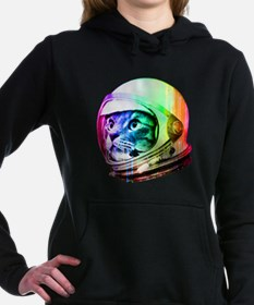 Astronaut Space Cat (dig Women's Hooded Sweatshirt