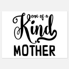 One of a kind Mother Invitations