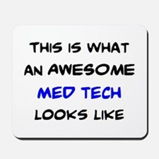 awesome med tech Mousepad