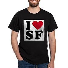 Funny Los angeles black T-Shirt