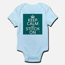 Keep Calm and Stitch On Body Suit