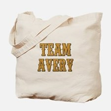 TEAM AVERY Tote Bag