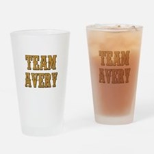 TEAM AVERY Drinking Glass