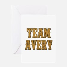 TEAM AVERY Greeting Cards