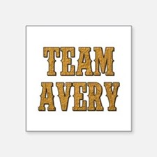 TEAM AVERY Sticker