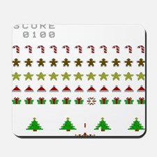 Christmas Invaders Mousepad