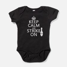 Keep Calm and Strike On Baby Bodysuit
