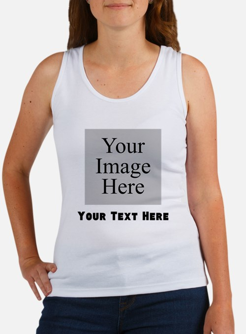 Your Image And Text Tank Top