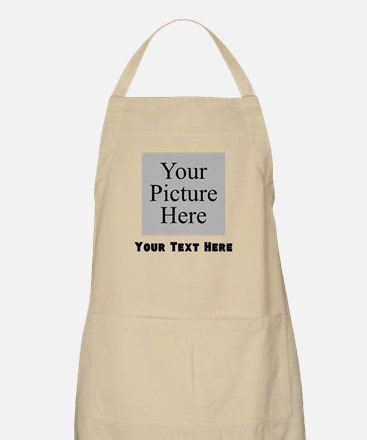 Custom Picture And Text Apron
