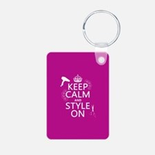 Keep Calm and Style On Keychains
