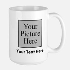 Custom Picture And Text Mugs