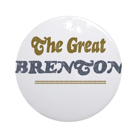 Brenton Ornament (Round)