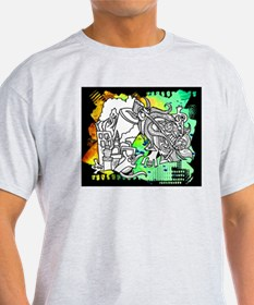 Unique Graffiti designs T-Shirt