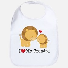 Cute I love my moms Bib