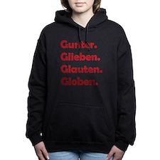 Cute Gunter glieben glauten globen Women's Hooded Sweatshirt