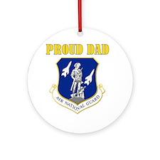 Proud dad Ornament (Round)