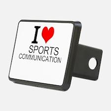 I Love Sports Communications Hitch Cover