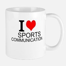 I Love Sports Communications Mugs