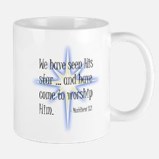 Birth of Christ - We have seen His star ... a Mugs