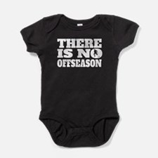 There Is No Offseason Field Hockey Baby Bodysuit