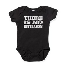 There Is No Offseason Hockey Baby Bodysuit