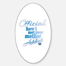 Cool Barney stinson Sticker (Oval)