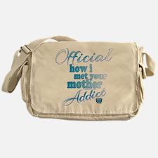Funny Howimetyourmothertv Messenger Bag