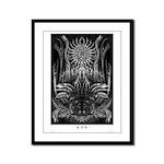 Yig Framed Panel Print