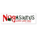Eggnog - Nogasaurus Sticker (Bumper 10 pk)
