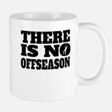 There Is No Offseason Badminton Mugs