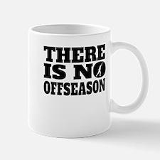 There Is No Offseason Shot Put Mugs