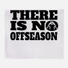 There Is No Offseason Wrestling Throw Blanket
