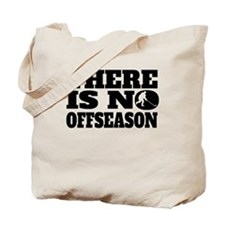 There Is No Offseason Hockey Tote Bag