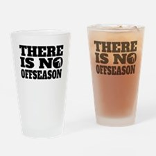 There Is No Offseason Billiards Drinking Glass