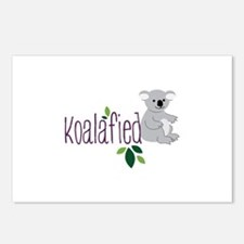 Koalafied Postcards (Package of 8)