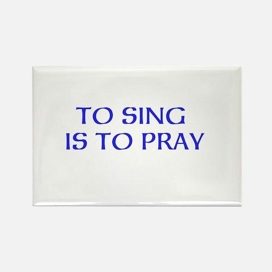 Cute Church choir Rectangle Magnet (10 pack)