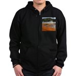 Grand Prismatic Spring Yellowstone Zip Hoodie