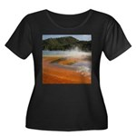 Grand Prismatic Spring Yellowstone Plus Size T-Shi