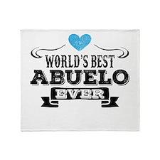 World's Best Abuelo Ever Throw Blanket