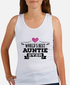 World's Best Auntie Ever Tank Top