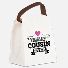 Worlds Best Cousin Ever Canvas Lunch Bag