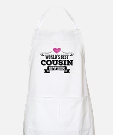 Worlds Best Cousin Ever Apron