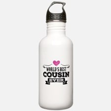 Worlds Best Cousin Ever Water Bottle
