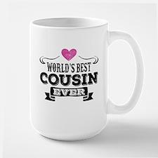 Worlds Best Cousin Ever Mugs