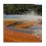 Grand Prismatic Spring Yellowstone Tile Coaster
