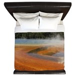 Grand Prismatic Spring Yellowstone King Duvet