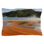 Grand Prismatic Spring Yellowstone Pillow Case