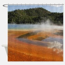Grand Prismatic Spring Yellowstone Shower Curtain