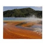 Grand Prismatic Spring Yellowstone Throw Blanket